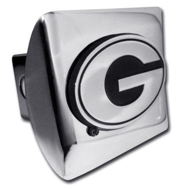 Georgia Chrome Hitch Cover