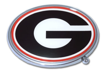 University of Georgia Color Chrome Emblem