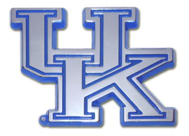 University of Kentucky Blue Chrome Emblem