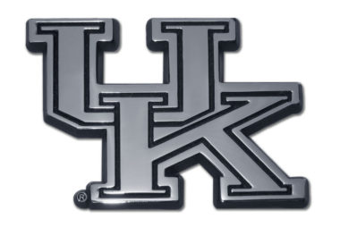 University of Kentucky Chrome Emblem