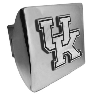 University of Kentucky Emblem on Chrome Hitch Cover