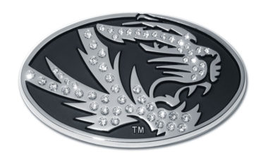 University of Missouri Tiger Crystal Chrome Emblem image