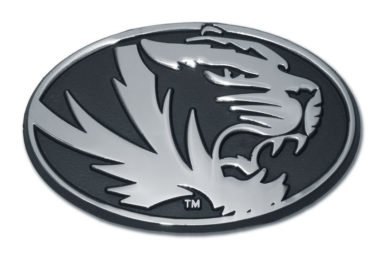University of Missouri Tiger Chrome Emblem