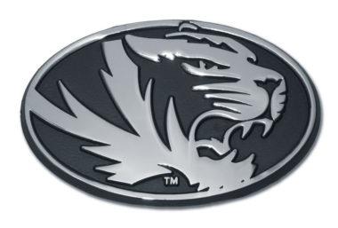 University of Missouri Tiger Chrome Emblem