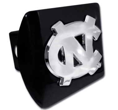 University of North Carolina Emblem on Black Hitch Cover