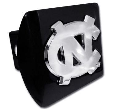 University of North Carolina Emblem on Black Hitch Cover