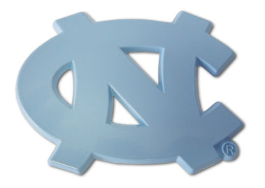 University of North Carolina Blue Powder-Coated Emblem
