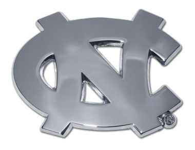 University of North Carolina Chrome Emblem