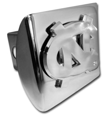 University of North Carolina Chrome Hitch Cover