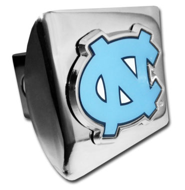 University of North Carolina Color Chrome Hitch Cover