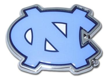 University of North Carolina Color Chrome Emblem