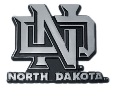 University of North Dakota Chrome Emblem