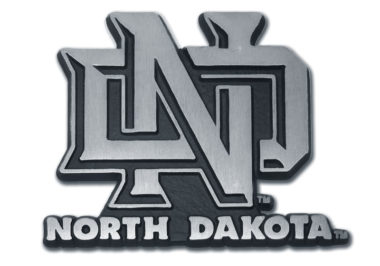 University of North Dakota Matte Chrome Emblem