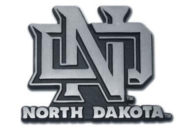 University of North Dakota Matte Chrome Emblem