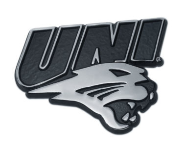Northern Iowa Chrome Emblem