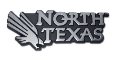 University of North Texas Chrome Emblem