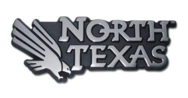 University of North Texas Chrome Emblem