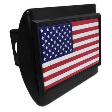 USA Flag Black Hitch Cover image