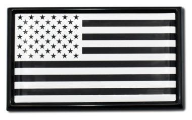 Inverted USA Flag Emblem