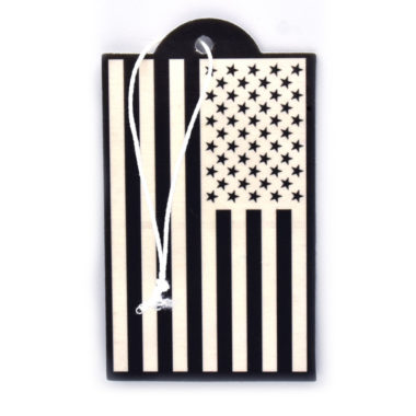 USA Flag Inverted Air Freshener 6 Pack