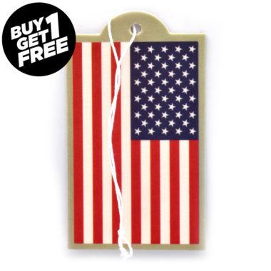 USA Flag Air Freshener 6 Pack image