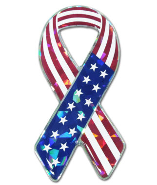 USA 3D Reflective Decal image