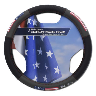USA Steering Wheel Cover - Small image