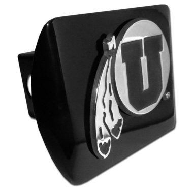 Utah Feathers Black Hitch Cover