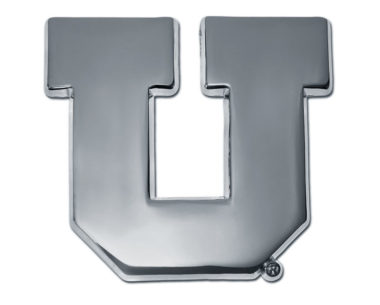 University of Utah Chrome Emblem