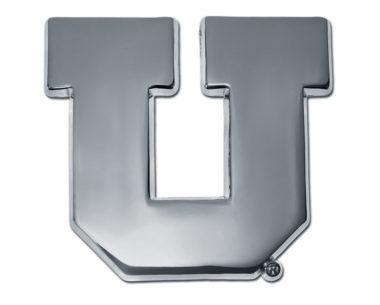 University of Utah Chrome Emblem