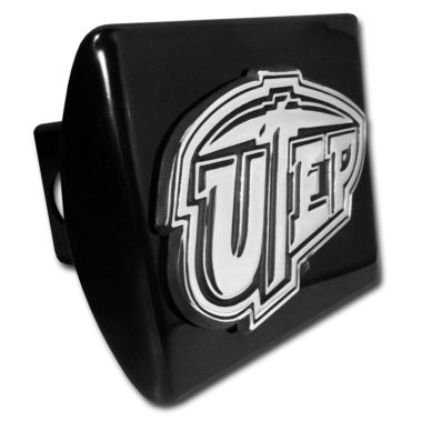 Texas at El Paso Emblem on Black Hitch Cover