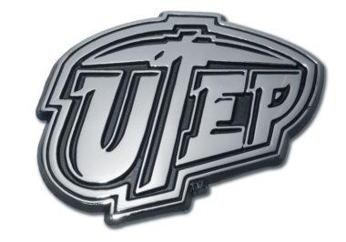 Texas at El Paso Chrome Emblem