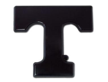 University of Tennessee Black Powder-Coated Emblem image