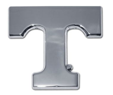 University of Tennessee Chrome Emblem