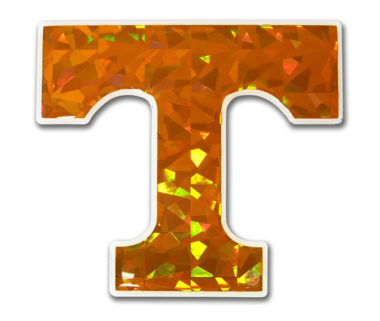 University of Tennessee Orange 3D Reflective Decal