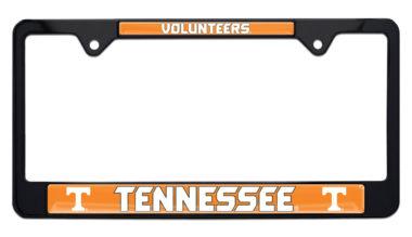 University of Tennessee Volunteers Black License Plate Frame