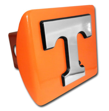 University of Tennessee Emblem on Orange Hitch Cover