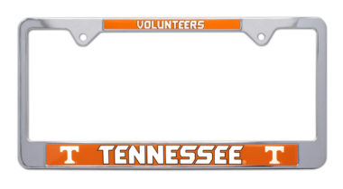University of Tennessee Volunteers License Plate Frame