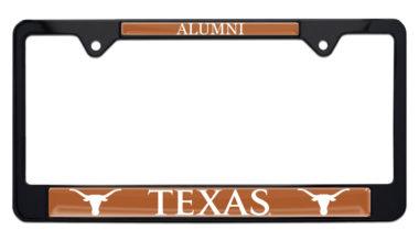 University of Texas Alumni Black License Plate Frame
