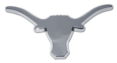 University of Texas Longhorn Chrome Emblem