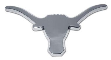 University of Texas Longhorn Chrome Emblem