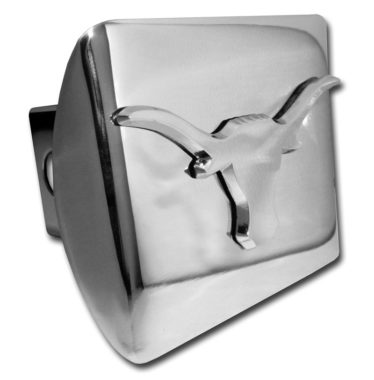 University of Texas Longhorn Chrome Hitch Cover image