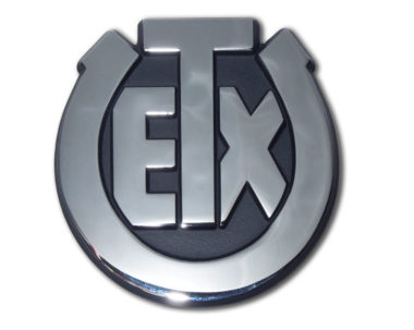 University of Texas Exes Chrome Emblem