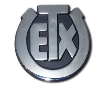 University of Texas Exes Chrome Emblem