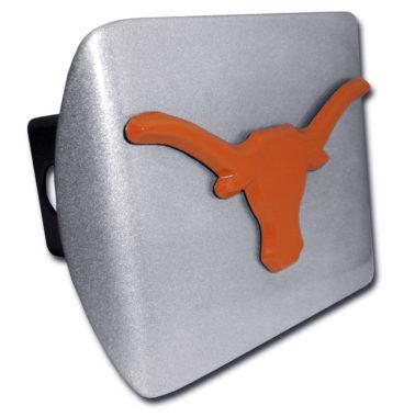 University of Texas Longhorn Orange Brushed Hitch Cover
