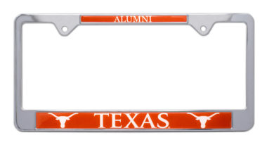 University of Texas Alumni License Plate Frame