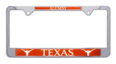 University of Texas Alumni License Plate Frame