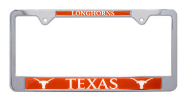 University of Texas Longhorns License Plate Frame image
