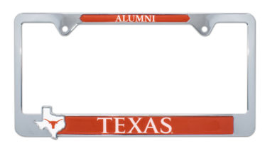 University of Texas Alumni Texas 3D License Plate Frame