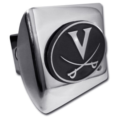 University of Virginia Chrome Hitch Cover